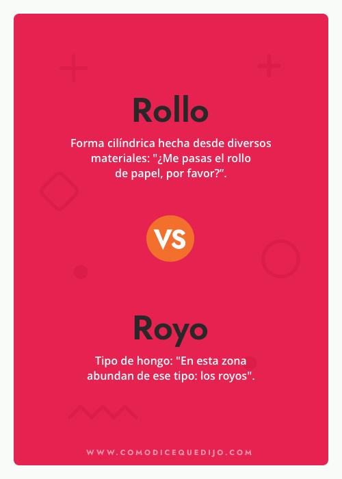 Rollo o Royo - ¿Cómo se escribe?